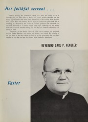 Page 11, 1954 Edition, St George High School - Georgian Yearbook (Pittsburgh, PA) online yearbook collection