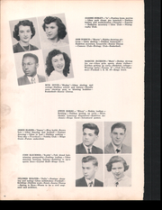 Page 14, 1949 Edition, East Pittsburgh High School - Crystal Yearbook (East Pittsburgh, PA) online yearbook collection