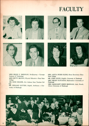Page 14, 1952 Edition, East Pittsburgh High School - Crystal Yearbook (East Pittsburgh, PA) online yearbook collection