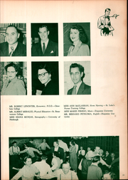 Page 15, 1952 Edition, East Pittsburgh High School - Crystal Yearbook (East Pittsburgh, PA) online yearbook collection