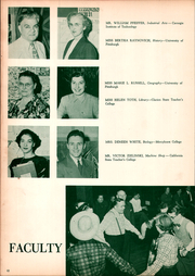 Page 16, 1952 Edition, East Pittsburgh High School - Crystal Yearbook (East Pittsburgh, PA) online yearbook collection
