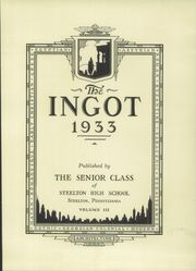 Page 7, 1933 Edition, Steelton High School - Ingot Yearbook (Steelton, PA) online yearbook collection