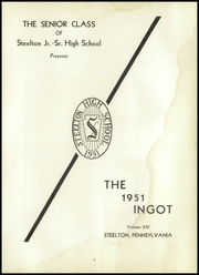 Page 7, 1951 Edition, Steelton High School - Ingot Yearbook (Steelton, PA) online yearbook collection
