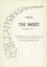 Page 7, 1954 Edition, Steelton High School - Ingot Yearbook (Steelton, PA) online yearbook collection