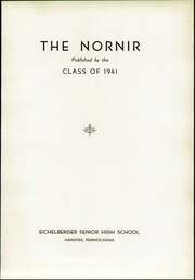 Page 7, 1941 Edition, Eichelberger High School - Nornir Yearbook (Hanover, PA) online yearbook collection