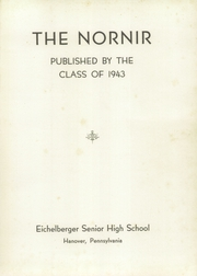 Page 5, 1943 Edition, Eichelberger High School - Nornir Yearbook (Hanover, PA) online yearbook collection