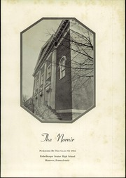 Page 5, 1944 Edition, Eichelberger High School - Nornir Yearbook (Hanover, PA) online yearbook collection