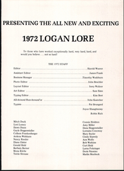Page 5, 1972 Edition, Sugar Valley High School - Logan Lore Yearbook (Loganton, PA) online yearbook collection