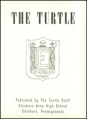 Page 5, 1954 Edition, Edinboro High School - Turtle Yearbook (Edinboro, PA) online yearbook collection