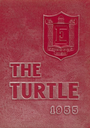 Edinboro High School - Turtle Yearbook (Edinboro, PA) online yearbook collection, 1955 Edition, Page 1