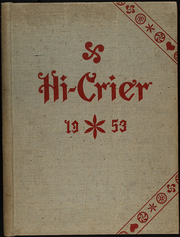 Page 1, 1953 Edition, Orwigsburg High School - Hi Crier Yearbook (Orwigsburg, PA) online yearbook collection
