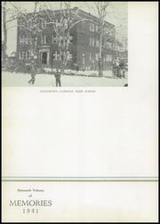 Page 6, 1941 Edition, Johnstown Central Catholic High School - Memories Yearbook (Johnstown, PA) online yearbook collection