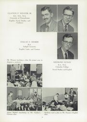 Page 13, 1955 Edition, Schwenksville High School - Lanconian Yearbook (Schwenksville, PA) online yearbook collection