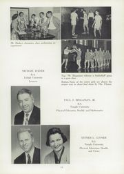 Page 15, 1955 Edition, Schwenksville High School - Lanconian Yearbook (Schwenksville, PA) online yearbook collection