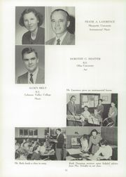 Page 16, 1955 Edition, Schwenksville High School - Lanconian Yearbook (Schwenksville, PA) online yearbook collection