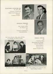 Page 17, 1957 Edition, Schwenksville High School - Lanconian Yearbook (Schwenksville, PA) online yearbook collection