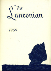1959 Edition, Schwenksville High School - Lanconian Yearbook (Schwenksville, PA)