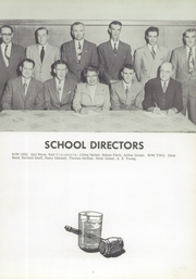 Page 11, 1956 Edition, West Franklin High School - Tatler Yearbook (Worthington, PA) online yearbook collection