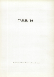 Page 5, 1956 Edition, West Franklin High School - Tatler Yearbook (Worthington, PA) online yearbook collection