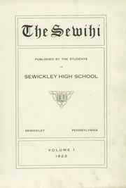 Page 7, 1923 Edition, Sewickley High School - Sewickley Yearbook (Herminie, PA) online yearbook collection
