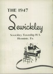 Page 6, 1947 Edition, Sewickley High School - Sewickley Yearbook (Herminie, PA) online yearbook collection
