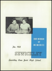 Page 5, 1958 Edition, Sewickley High School - Sewickley Yearbook (Herminie, PA) online yearbook collection