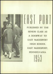 Page 6, 1953 Edition, East McKeesport High School - East Port Yearbook (East McKeesport, PA) online yearbook collection