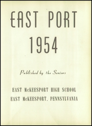 Page 7, 1954 Edition, East McKeesport High School - East Port Yearbook (East McKeesport, PA) online yearbook collection