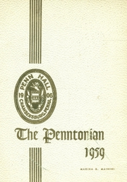 1959 Edition, Penn Hall High School - Penntonian Yearbook (Chambersburg, PA)