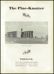 Page 7, 1943 Edition, Northumberland High School - Pine Knotter Yearbook (Northumberland, PA) online yearbook collection