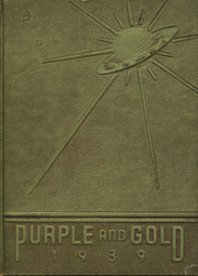Verona High School - Purple and Gold Yearbook (Verona, PA) online yearbook collection, 1939 Edition, Page 1