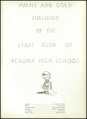 Page 5, 1955 Edition, Verona High School - Purple and Gold Yearbook (Verona, PA) online yearbook collection