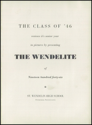 Page 5, 1946 Edition, Saint Wendelin High School - Wendelite Yearbook (Pittsburgh, PA) online yearbook collection