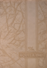 Page 1, 1940 Edition, Snowden High School - Aquila Yearbook (Library, PA) online yearbook collection