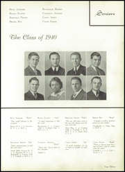 Page 17, 1940 Edition, Snowden High School - Aquila Yearbook (Library, PA) online yearbook collection