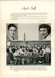 Page 8, 1951 Edition, Snowden High School - Aquila Yearbook (Library, PA) online yearbook collection