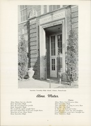 Page 8, 1954 Edition, Snowden High School - Aquila Yearbook (Library, PA) online yearbook collection