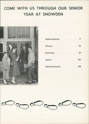 Page 9, 1957 Edition, Snowden High School - Aquila Yearbook (Library, PA) online yearbook collection