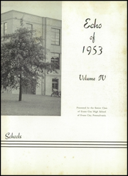 Page 7, 1953 Edition, Evans City High School - Echo Yearbook (Evans City, PA) online yearbook collection
