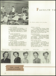 Page 16, 1948 Edition, North Huntingdon High School - Norhiscope Yearbook (Irwin, PA) online yearbook collection