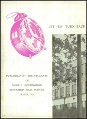 Page 6, 1950 Edition, North Huntingdon High School - Norhiscope Yearbook (Irwin, PA) online yearbook collection