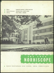Page 5, 1954 Edition, North Huntingdon High School - Norhiscope Yearbook (Irwin, PA) online yearbook collection