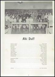Page 7, 1958 Edition, Albion High School - Alhi Yearbook (Albion, PA) online yearbook collection