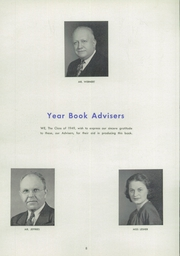 Page 12, 1949 Edition, Lansford High School - Panther Yearbook (Lansford, PA) online yearbook collection