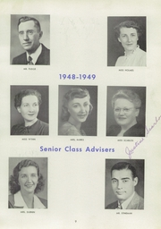 Page 13, 1949 Edition, Lansford High School - Panther Yearbook (Lansford, PA) online yearbook collection