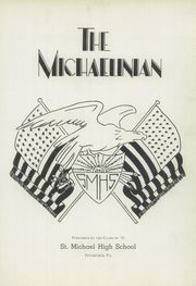 Page 5, 1942 Edition, St Michaels High School - Michaelinian Yearbook (Pittsburgh, PA) online yearbook collection