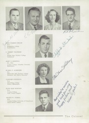 Page 17, 1949 Edition, Collegeville Trappe High School - Colonel Yearbook (Trappe, PA) online yearbook collection