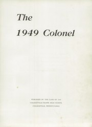 Page 7, 1949 Edition, Collegeville Trappe High School - Colonel Yearbook (Trappe, PA) online yearbook collection