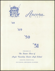 Page 5, 1951 Edition, Hazle Township High School - Ancora Yearbook (Hazleton, PA) online yearbook collection
