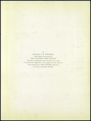 Page 9, 1920 Edition, Lancaster High School - Vidette Yearbook (Lancaster, PA) online yearbook collection